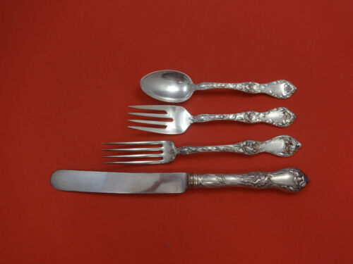 Les Cinq Fleurs by Reed & Barton Sterling Silver Regular Setting(s) 4pc