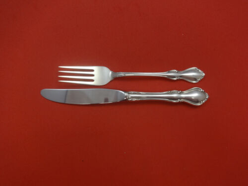 Hampton Court by Reed & Barton Sterling Silver Junior Set 2pc Vintage
