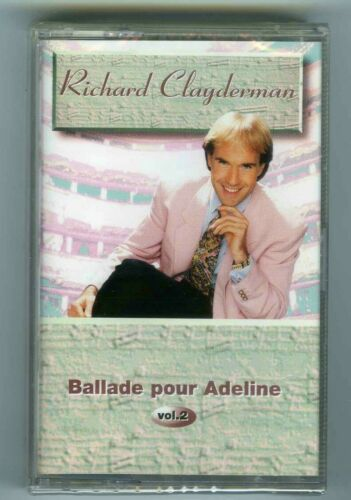 CASSETTE TAPE NEW RICHARD CLAYDERMAN BALLADE POUR ADELINE VOL 2