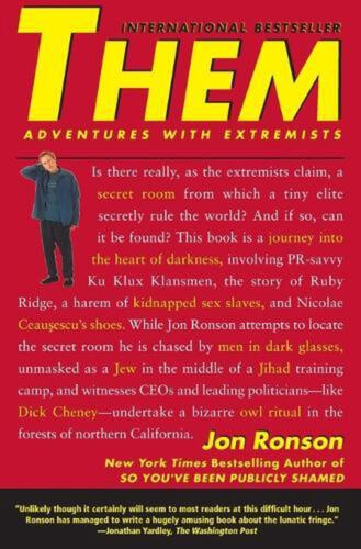 Them: Adventures with Extremists by Jon Ronson (English) Paperback Book Free Shi