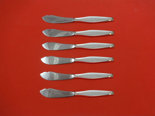 Classique by Gorham Sterling Silver Trout Knife Set 6pc HHWS  Custom Made