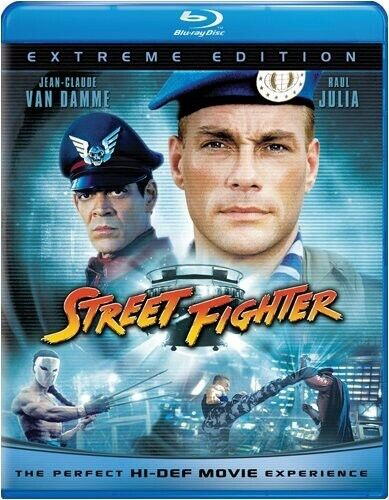 Street Fighter [Extreme Edition] (2011, Blu-ray NEW)