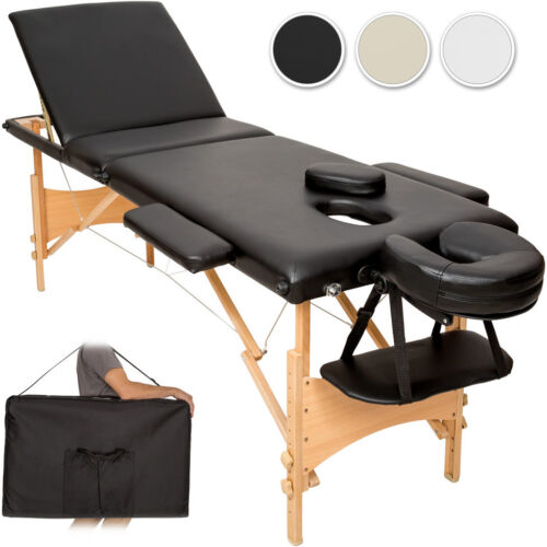 Table banc 3 zones lit de massage pliante cosmetique esthetique + sac