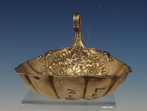 La Marquise by Reed & Barton Sterling Silver Candy Dish Shell w/Flowers (#0464)