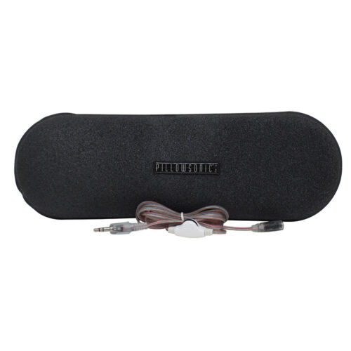Pillowsonic Stereo Pillow Speaker with Volume Control
