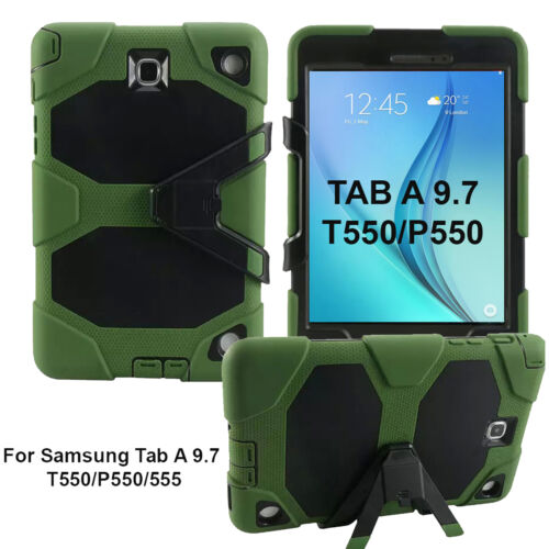 Heavy Duty Protective Kick Stand Case Cover Samsung Galaxy TAB A 9.7 T550/P550