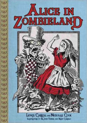 Alice in Zombieland by Lewis Carroll (English) Paperback Book Free Shipping!