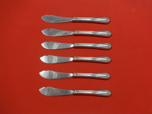 Inaugural by State House Sterling Silver Trout Knife Set 6pc HHWS  Custom Made