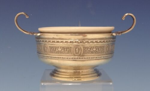 Wedgwood by International Sterling Silver Bouillon Cup & Lenox Liner #P5 (#0713)