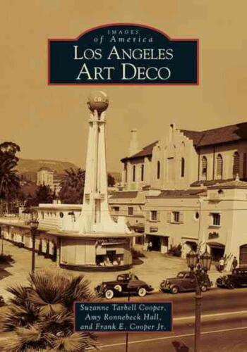 Los Angeles Art Deco by Suzanne Tarbell Cooper (English) Paperback Book Free Shi