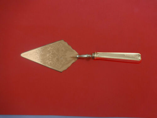 Lady Baltimore by Whiting Sterling Silver Pastry Server Fancy Vermeil Custom