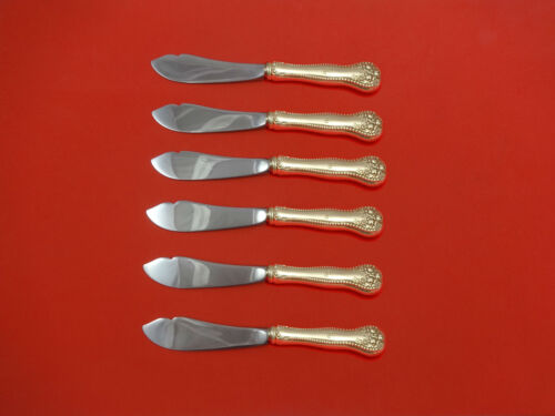 Lancaster by Gorham Sterling Silver Trout Knife Set 6pc HHWS  Custom Made