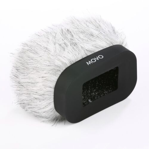 Movo Furry Windscreen for Zoom H4n H5 H6 & Tascam DR-47 DR100 Portable Recorders