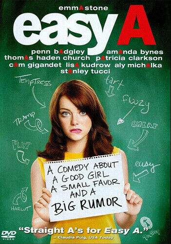 Easy A (2010, DVD NEW)