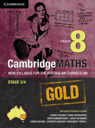 Cambridge Mathematics Gold NSW Syllabus for the Australian Curriculum Year 8 Pac