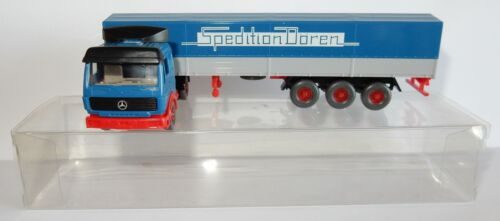 WIKING HO 1/87 CAMION MB MERCEDES SEMI REMORQUE SPEDITION DOREN IN BOX bis