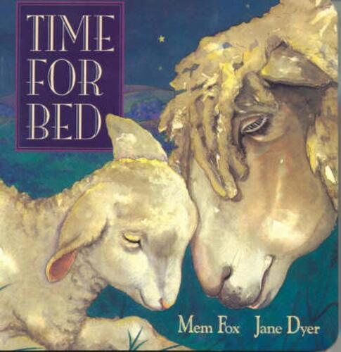 Time for Bed by Mem Fox Board Books Book Free Shipping!