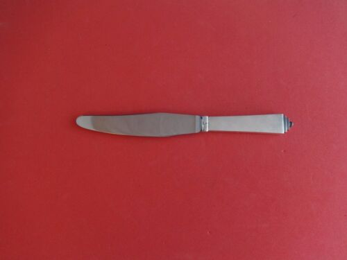 """Pyramid by Georg Jensen Sterling Silver Luncheon Knife with GI Mark 7 3/4"""""""
