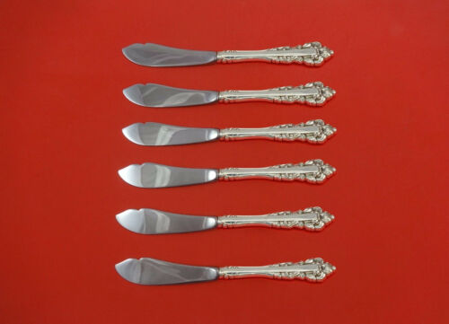"""Medici New by Gorham Sterling Silver Trout Knife Set 6pc. HHWS  Custom 7 1/2"""""""