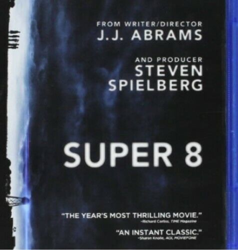 Super 8 [2 Discs] [Includes Digital Copy] [Blu-ray/DVD] (2011, Blu-ray NEW)