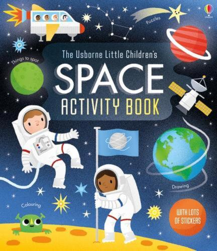 Little Children's Space Activity Book by Rebecca Gilpin (English) Paperback Book