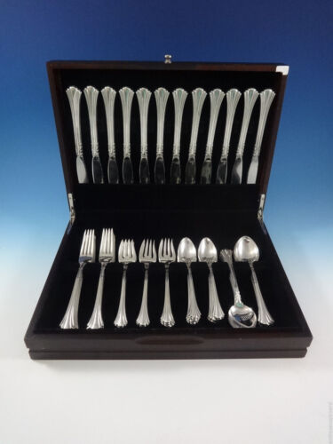 Eighteenth Century by Reed & Barton Sterling Silver Flatware Set Service 60 Pcs