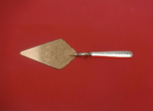 Rambler Rose by Towle Sterling Silver Pastry Server Fancy Vermeil HH Custom
