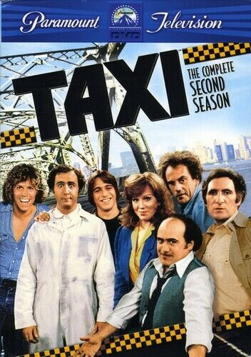 Taxi: The Complete Second Season [4 Discs] (2005, DVD NEW)