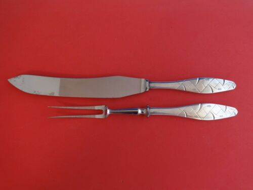 Diamant aka Diamond by A. Dragsted Sterling Silver Roast Carving Set 2pc HHWS