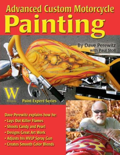 Advanced Custom Motorcycle Painting by Dave Perewitz (English) Paperback Book Fr