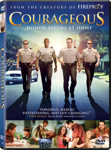 Courageous (2012, DVD NEW)