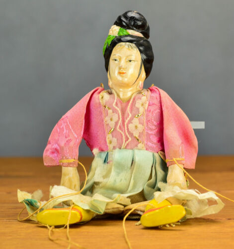 Top Quality! Chinese Toy Doll CHina 1900-1940 Lady Girl Marionet