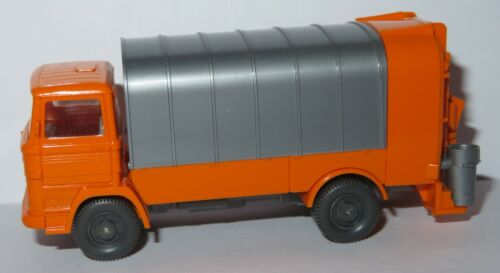 WIKING HO 1/87 MERCEDES KUKA CAMION POUBELLE REFUSE TRUCK SANITARY MULLWAGEN a
