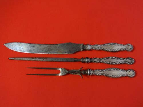 Louis XV by Whiting Sterling Silver Roast Carving Set 3pc HHWS