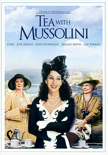 Tea With Mussolini (2012, DVD NEW)