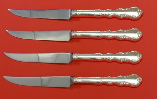 Angelique by International Sterling Silver Steak Knife Set 4pc HHWS  Custom