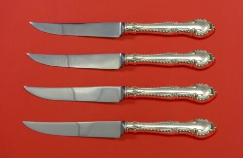 English Gadroon by Gorham Sterling Silver Steak Knife Set 4pc HHWS  Custom Made