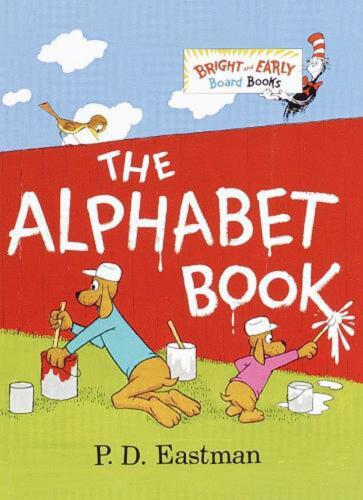 The Alphabet Book by P.D. Eastman (English) Board Books Book Free Shipping!