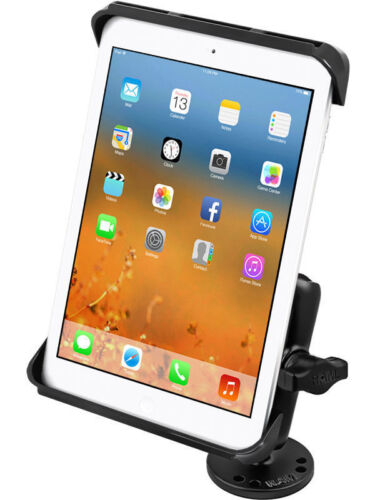 "RAM Mount iPad Air 2 Pro 9.7""  Flat Surface Drill Down Desk Dash Boat Mount"