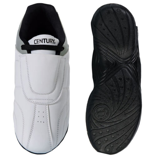 Century Lightfoot Martial Arts Sparring Shoes - White/Gray <br/> #1 Seller of Century - Over 450,000 Feedbacks