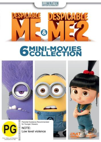 Despicable Me / Despicable Me 2 - 6 Mini-Movies Collection - DVD Region 4 Free S