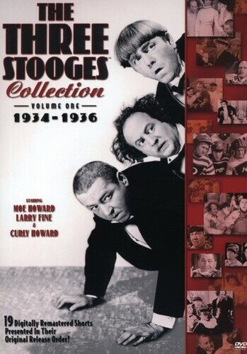 Three Stooges Collection 1934-1936 [2 Discs] (2007, DVD NEW)