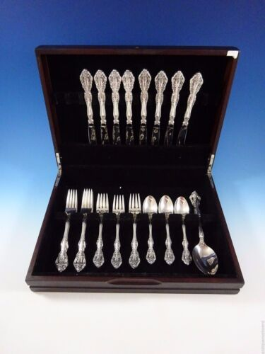 Michelangelo by Oneida Tradition Sterling Silver Flatware Set Service 33 Pieces