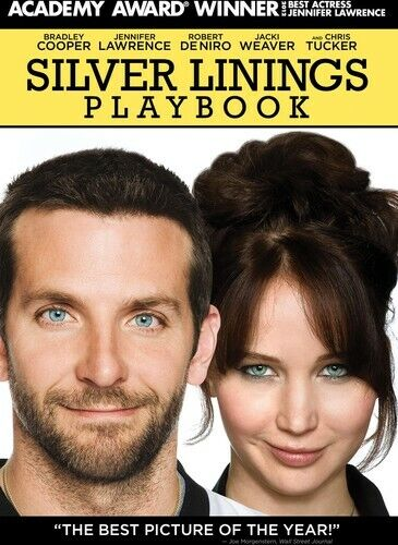 Cooper/Lawrence/Deniro - Silver Linings Playbook (2013, DVD NEW)