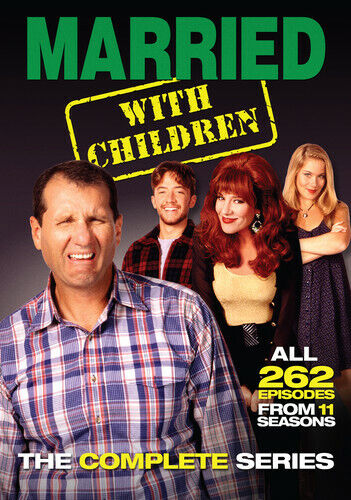 Married With Children: The Complete Series - 21 DISC SET (2015, DVD NEW)