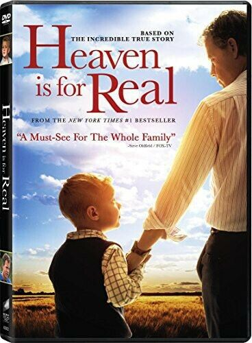 Heaven Is For Real (2014, DVD NEW)