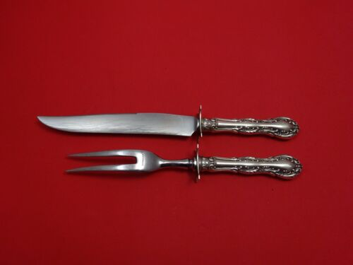 Old Atlanta by Wallace Sterling Silver Steak Carving Set 2pc HHWS