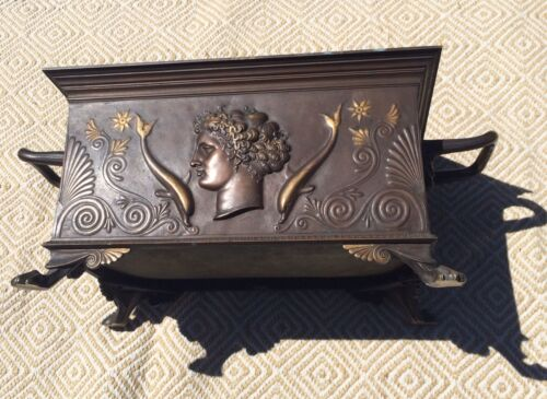 Edwardian Bronze Jardinière Planter Contact For Shipping Options