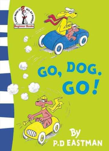 Go, Dog. Go! by P.D. Eastman (English) Paperback Book Free Shipping!