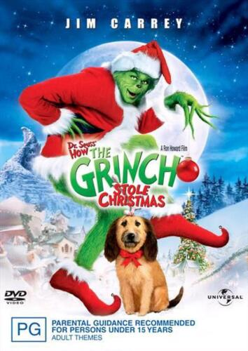 The Grinch - DVD Region 4 Free Shipping!